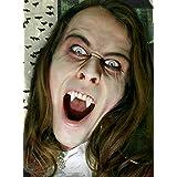 Vampiro postizos Deluxe-juego de dientes pegamento