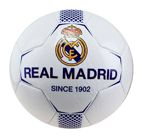 BALON REAL MADRID MEDIANO BLANCO-AZUL