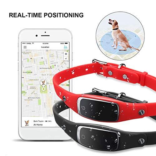 GPS Tracker Für Katzen Mit 1-3 Tage Akkulaufzeit Pet Tracker Für Haustiere, Kinder, Fahrzeuge Genaue GPS Ortung WasserdichtRed
