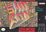 Sim City - Super Nintendo SNES