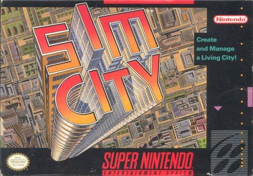 Sim City - Super Nintendo SNES