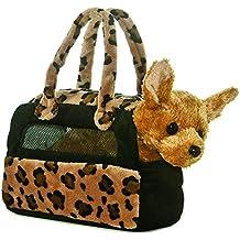 Aurora Fancy Pals - Perro chihuahua de peluche con bolso de transporte
