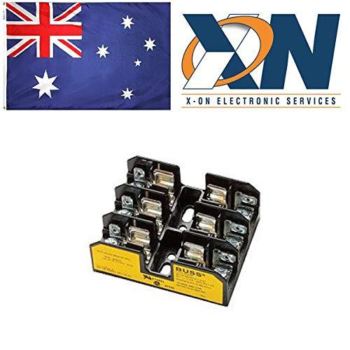 Eaton BG3033S Sicherungsblock, Niederspannung, 30 A, AC 480 V, DC 480 V, 61 x 31 x 76 mm, 3P, Ul, CSA - 480v 30 Amp
