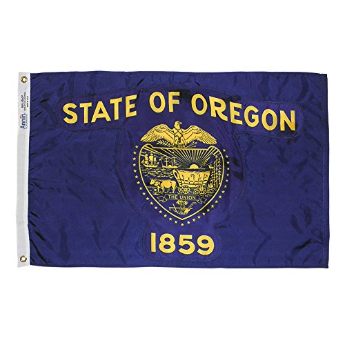 Annin flagmakers Oregon State Flagge, 5 by 8' -
