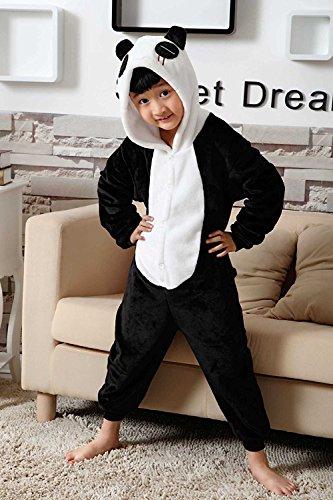 Imagen de abyed kigurumi pijamas unisexo adulto traje disfraz adulto animal pyjamas,panda chidren tamaño 115 para altura 126 137cm alternativa