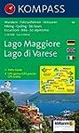 Carte touristique : Lago Maggiore, La...