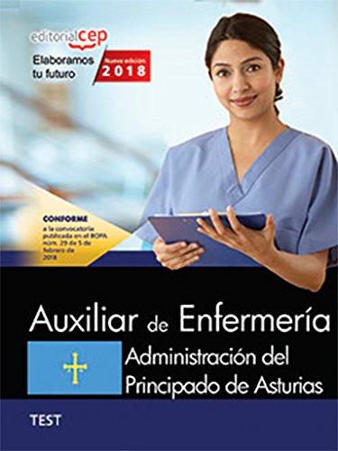 Auxiliar de Enfermería. Administración del Principado de Asturias. Test por Vv.Aa
