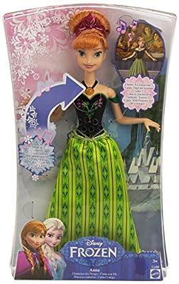 Frozen - Muñeca, princesa cantarina, 33 cm