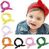Mgreat Baby Stirnband Bandana Haarband Elastische Stirnbänder Blumendruck Headwrap für Damen Mädchen