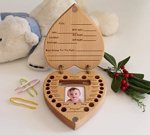 New Baby Girl Gift Ideas Uk : Baby tooth box shower gifts gift new