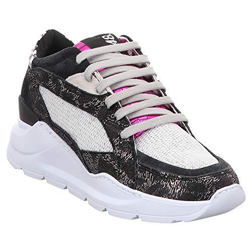 P448 | E9LEIA | Sneaker - schwarz | Space, Farbe:schwarz, Größe:40