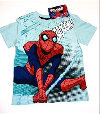"Spiderman Jungen T-Shirt ""BADOOM!!""- 116"