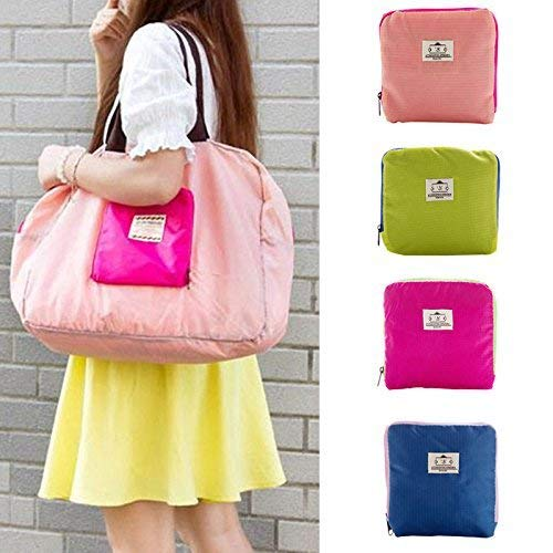 Koyet 1Pcs Nylon Street Shopper Shoulder Foldable Bag || Food...
