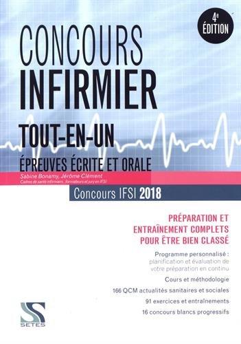 Concours infirmier 2018 - Tout-en-un : Préparation et entraînement complets