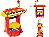 Kinder Spielzeug Piano Keyboard Klavier Musikinstrument Kinderpiano #1604