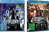 Hellboy & Hellboy II: Die goldene Armee (2-Disc Special Edition), Hellboy 1+2 [Blu-Ray] im Set - Deutsche Originalware [3 Blu-rays]