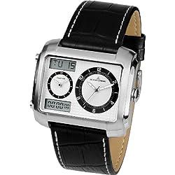 Jacques Lemans Men's Quartz Watch Madrid 1-1708B with Leather Strap