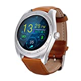 RGTOPONE Multifunction Fitness Activity Tracker GPS Trajectory Map/Remote Music Camera/Answer Calls/Phonebook/Call History/Pedometer/Calculator/Recorder/Heart rate Dectector/Calorie Counter/Telemeter/Social Contact/Sleep Quality Monitor/Alarm Clock/Sedentary Reminder/Notification Call Push/ 128MB Memory Smart Sports Watch Exercise Bracelet for iOS Android