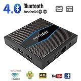 CAPTIANKN Smart Box Android, H96 Mini Android 7.1 2GB di RAM 16 GB di Rom Supporto 2.4G WiFi Telecomando a infrarossi,USPlug