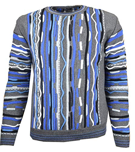 Paolo Deluxe Sweater Modell Maxim Blue (XS) - Deluxe Pullover