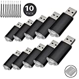 10PCS USB-Flash Drive USB 2.0 Memory Stick Memory Drive Pen Drive schwarz 4 GB