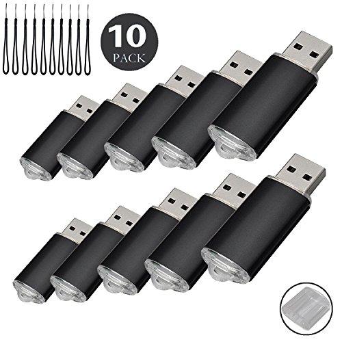 10pcs 2 G USB flash drive usb 2.0 Memory Stick Pen Drive de disco de memoria (2.0 GB)