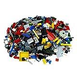 Bausteine gebraucht 2 Kg Lego System Steine ca. 1500 Teile Kiloware bunt Gemischt z.B. Räder Platten Tiere