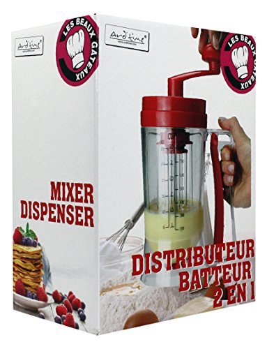 ARD \'time bg-bat Meine schöne Kuchen Handbetriebener Mixer und Dispenser Teig Kunststoff rot 11x 11x 29cm