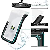 Waterproof Phone Case YOSH IPX8 Waterproof Phone Pouch Dry Bag Watertight Sealed Underwater Phone Pouch with Lanyard for iPhone X XR XS 8 7 6s Plus Samsung S9 S8 Huawei P30 P20 Mate20 Pro up to 6.1