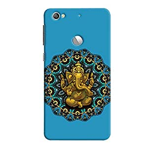 ColourCrust LeEco LE1S Mobile Phone Back Cover With Lord Ganesha Ganpati Devotional - Durable Matte Finish Hard Plastic Slim Case