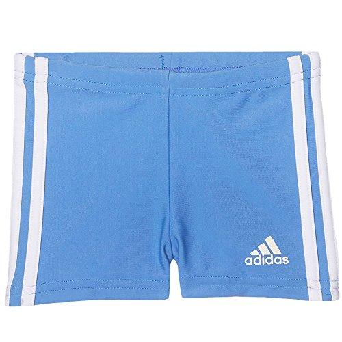 adidas INF 3S BX KB - Badeanzug Kinder, Farbe: blau / weiß, Größe  74