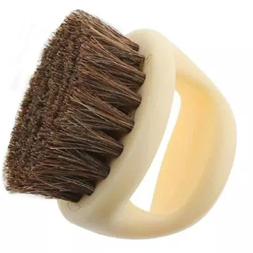 welim shoes quality horse hair brush soft brush Horsehair brush horse horseshoe shape is used to polish and remove dust from shoes