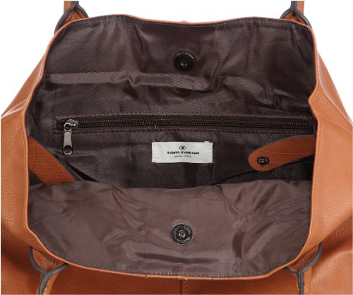 Tom Tailor Acc MIRIPU 10990 Borsa Shopper Donna 44x28x18 cm (B x H x T) Marrone (Braun (cognac 22))