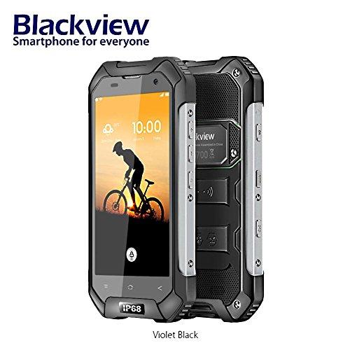 Handy freigeschaltet Dual SIM 4G Android 7.0 IP68 wasserdicht, Blackview BV6000S 4.7