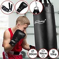niyin204 Sac de Frappe pour Enfant avec Support Gants de Boxe r/églables en Hauteur Exercice et activit/é Amusante pour Enfants de 5 Ans et
