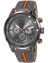 Esprit Herren-Armbanduhr XL Alaric Chronograph Quarz Leder ES108021001