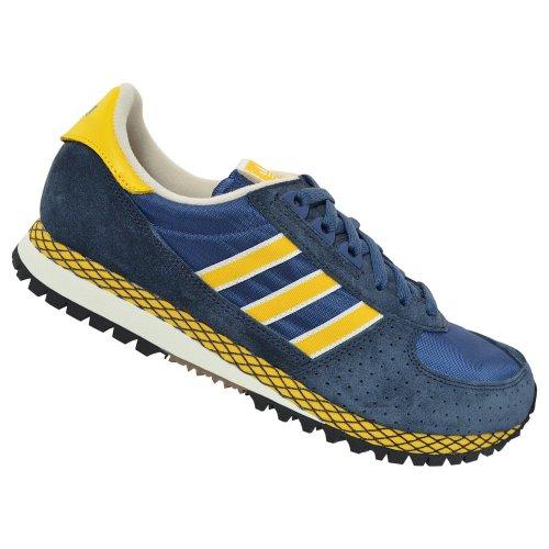 adidas Zapatillas Casual Marathon Azul / Amarillo EU 47 1/3