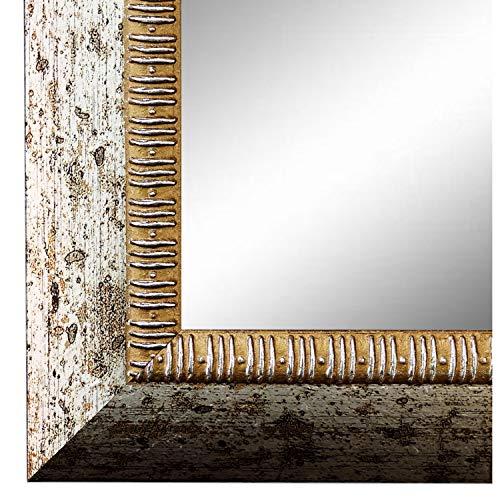 Online Galerie Bingold Spiegel Wandspiegel Silber 60 x 90 cm - Modern, Retro, Vintage - Alle Größen - Made in Germany - AM - Turin 4,0