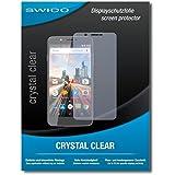 """2 x SWIDO® protecteur d'écran Archos 55 Helium Ultra film protecteur feuille """"CrystalClear"""" invisible"""