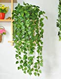 #4: DearHouse Leaves Garlands/Creepers For Decoration - Pack Of 4 ( Assorted Shapes/Shapes As Per Stock)