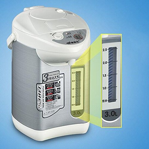 BCQ Electric Water Bottle Insulation Home Electric Kettle 304 Stainless Steel Anti-Scalding Power off the Water 3L 750W Electric Kettles