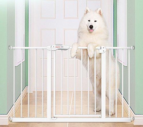 Breiten Sie Baby-Tor-Sicherheits-Tor Für Treppe-Spitze Des Treppen-Baby-Tor-weißen Baby-Laufgitter-Baby-Zaun-Hundetors Innen (größe : 66-74cm) -