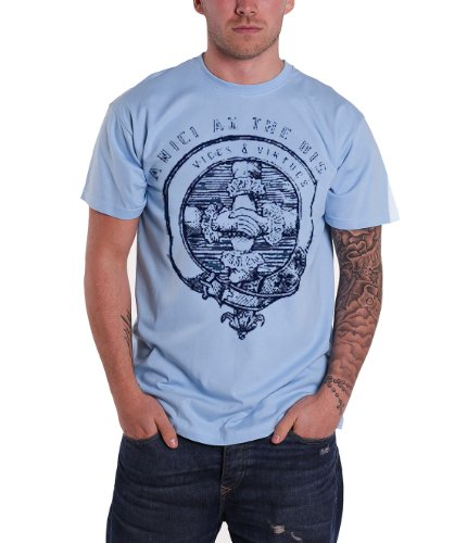 Panic at the Disco Vice and Virtues Carolina Blue Official Mens T Shirt
