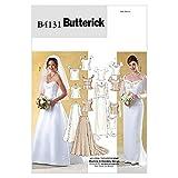 Butterick Patterns Mesdames 4131–Patron de Couture Robe de Mariée Mariage bodices & jupes Tailles: 12–16...