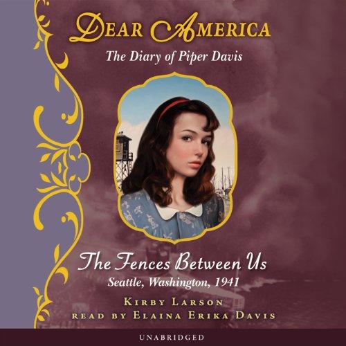 Dear America: The Diary of Piper Davis  Audiolibri