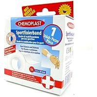 Fixierband Sporttape Tape Pflaster 5mx38mm weiss preisvergleich bei billige-tabletten.eu