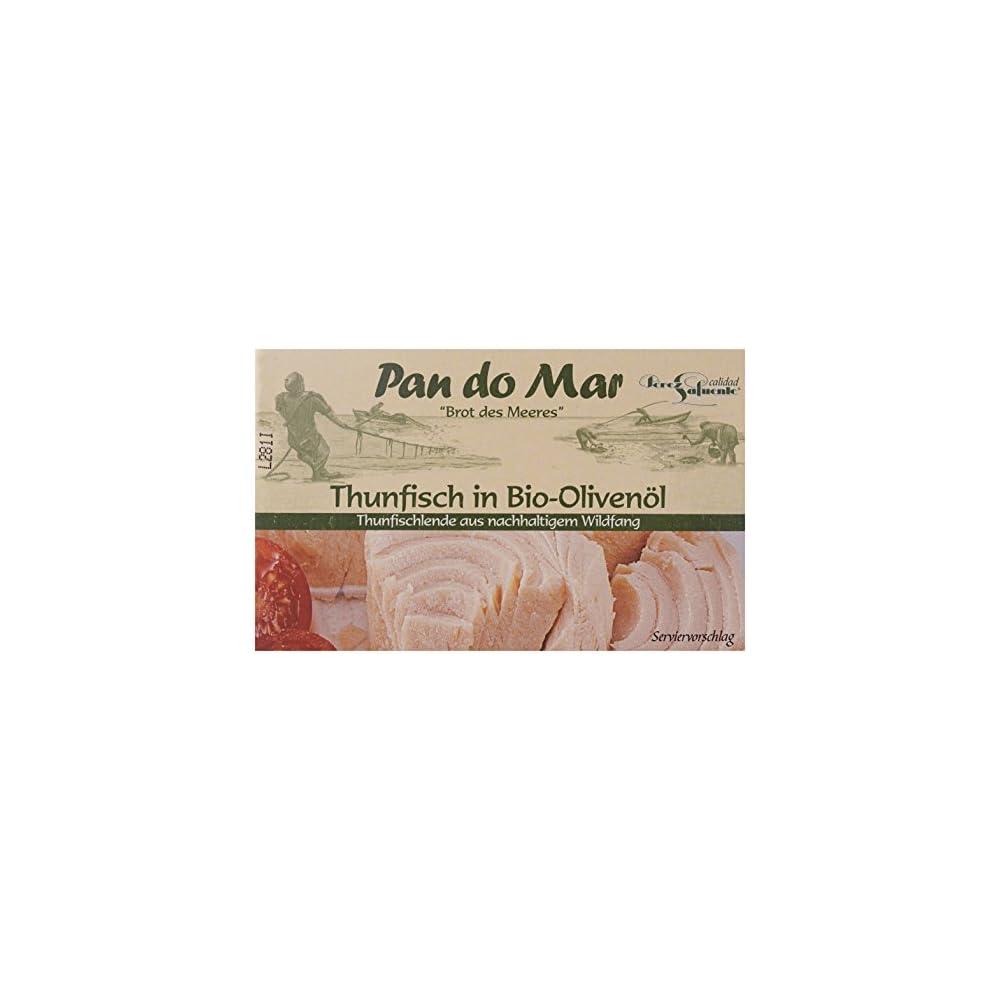 Pan Do Mar Thunfisch In Bio Olivenl Extra Nativ 5er Pack 5 X 120 G