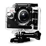 Elephone Action Camera WiFi 4K con sensore Sony da 16MP e Waterproof 30M Kit.