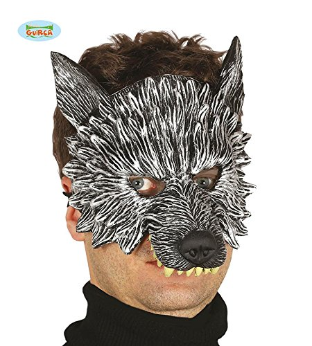 Wolf Latex Maske Halloween Horror Halloweenmaske maske (Vögel Ideen Kostüm Halloween Die)