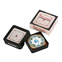 Precise KD Carrom Striker Tournament Grade Board Accessory Genuine Acrylic Striker Approved & Recognised in Carrom Federation of India, International Carrom Federation (Elegant S05)